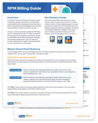 Remote Patient Monitoring Billing Guide